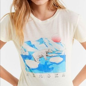 Urban Outfitters Alaska Graphic Tee